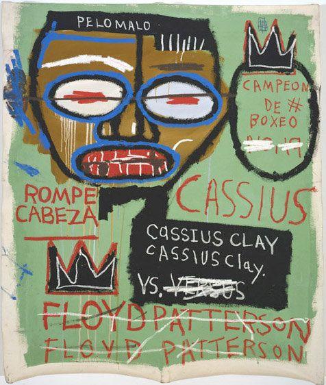 """""""Cassius Clay"""", 1982  © The Estate of Jean-Michel Basquiat/ADAGP, Paris, ARS, New York 2013. Courtesy Gagosian Gallery. Phot"""