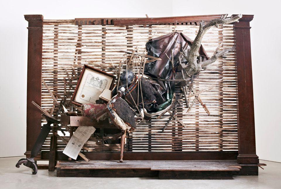 "Titus Kaphar, ""The Vesper Project"" Photography by Luke Hanscom."