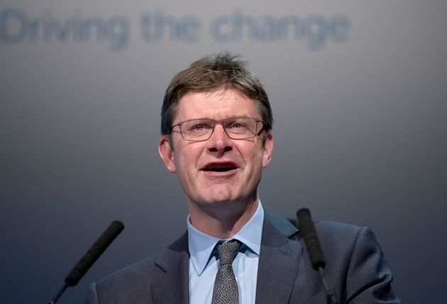Greg Clark at the Tory Party Conference in