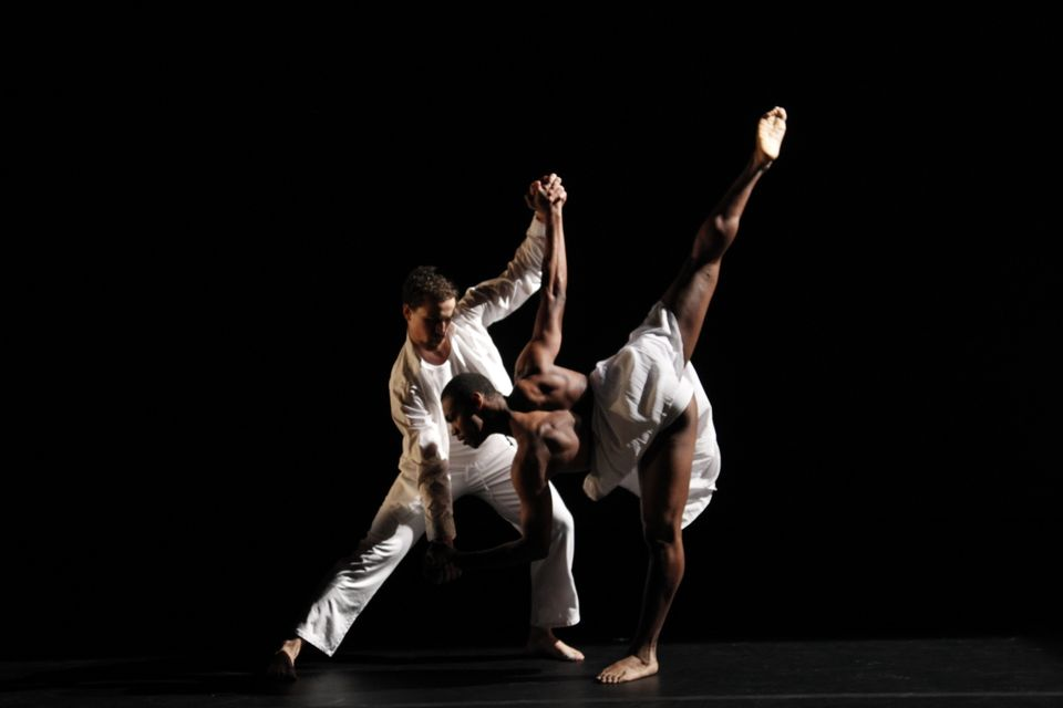 """Images from the current company season, """"Play and Play: An Evening of Movement and Music."""""""