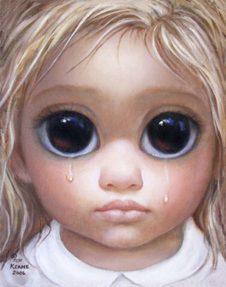 """""""Thank You"""" ©2006 (Courtesy, <a href=""""http://www.keane-eyes.com/"""" target=""""_blank"""">Keane Eyes Gallery</a>, San Francisco, CA.)"""