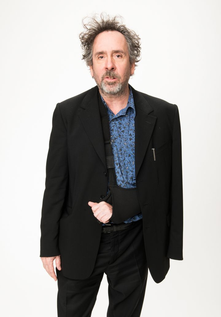 BEVERLY HILLS, CA - FEBRUARY 04: Tim Burton attends the People.com Portrait Gallery at the 85th Academy Awards - Nominees Lun