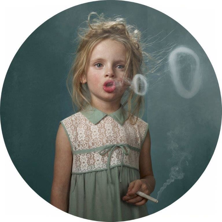 Frieke Janssens, Ringlings, 2011, Digital chromogenic dye print mounted to plexi, 35 x 35 inches Courtesy Catherine Edelman G