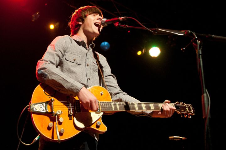LEICESTER, UNITED KINGDOM - MARCH 28: Jake Bugg performs onstage during his March 2013 UK tour at o2 Academy on March 28, 201