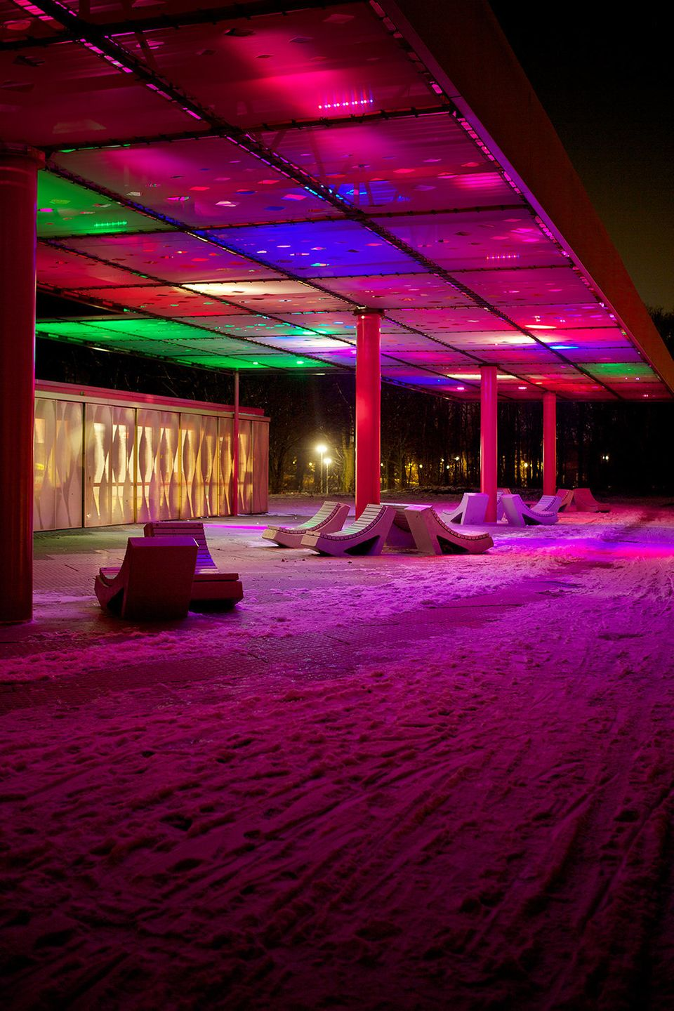 Sophie Valla's LED Cloud installation
