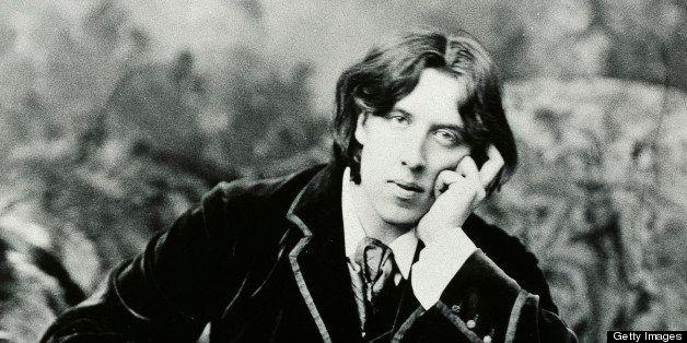 Oscar Wilde (1854-1900) Irish writer, in New York in January 1882.