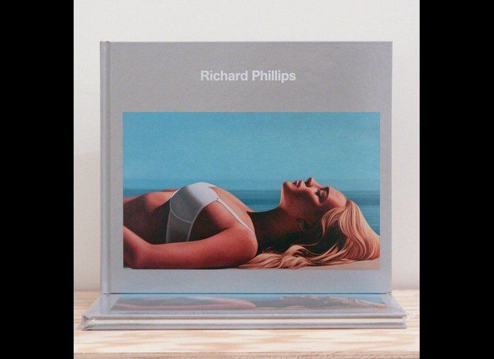 """Richard Phillips catalog published by Gagosian gallery.  Image courtesy of Gagosian gallery. <a href=""""http://karmakarma.org"""""""