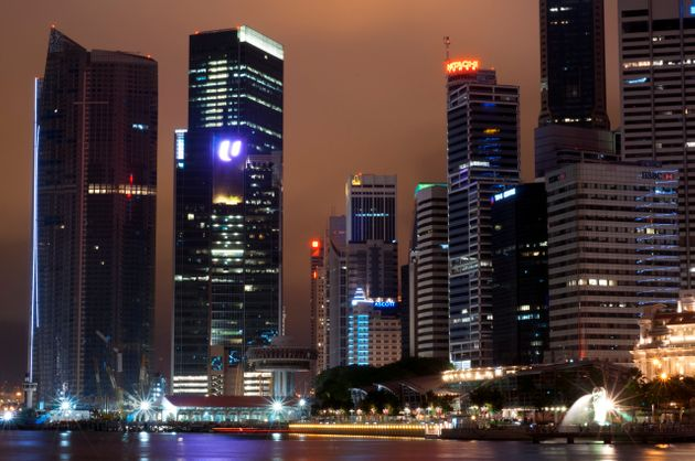 Singapore's skyline. Labour says low tax, low regulation Brexit would see the UK ape the city
