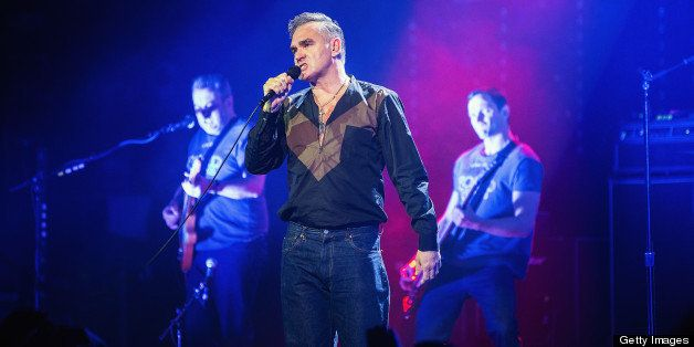 SEATTLE, WA - MARCH 06:  Morrissey performs at The Moore Theater on March 6, 2013 in Seattle, Washington.  (Photo by Mat Hayw