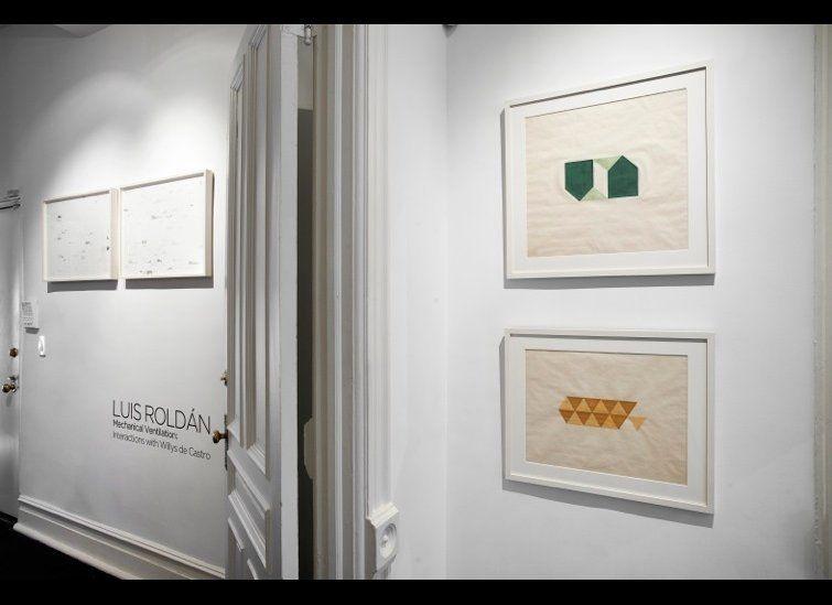 Luis Roldan: Mechanical Ventilation. Interactions with Willys de Castro. Curated by Juan Ledezma. Henrique Faria Fine Art.