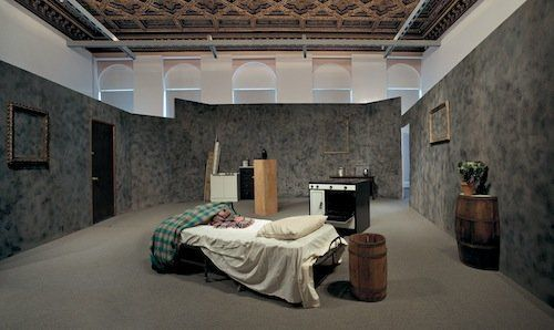 Mike Kelley Extracurricular Activity Projective Reconstruction #1 (A domestic Scene) Installation View, 2000