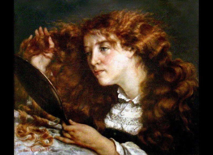 Portrait of Jo (La belle Irlandaise), 1865-1866, Metropolitan Museum of Art.  Wikimedia Commons.