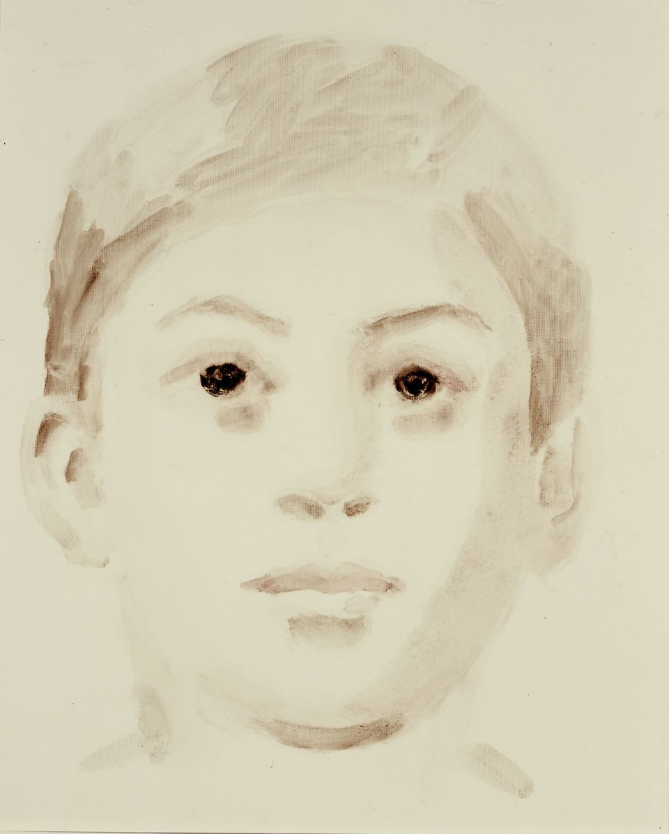 Annie Kevans Joseph Stalin, Soviet Union 2004 Oil on paper 51 x 41 cm © Annie Kevans, 2004 Image courtesy of the Saatchi Gall