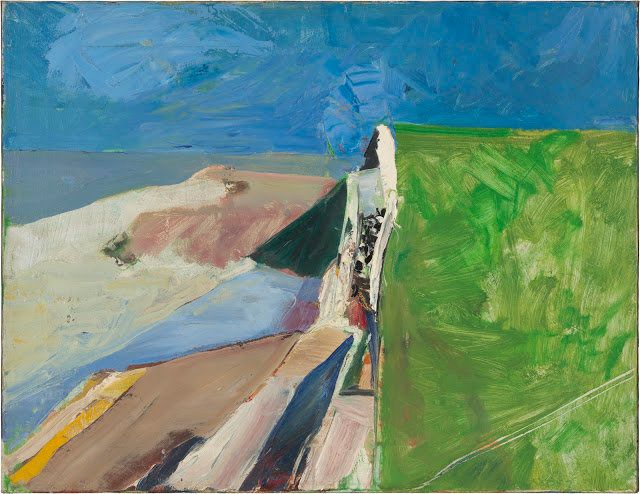1957 Oil on canvas 20 x 26 in. (50.8 x 66 cm) Fine Arts Museums of San Francisco, gift of Phyllis G. Diebenkorn, 1995.96 © 20