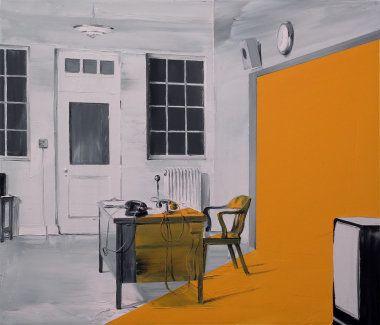 Trono (Óleo-lienzo/Oil-canvas. 60 x 70 cms. 2011)