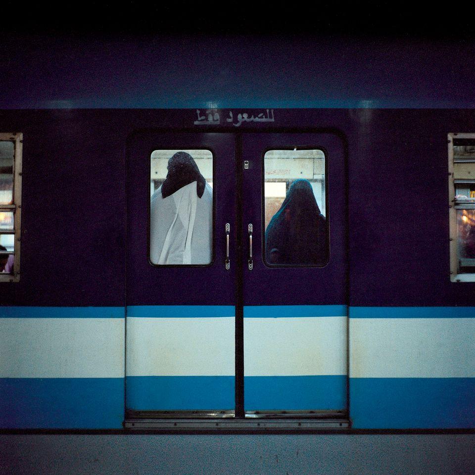 Metro #7, 2003, Rana El Nemr