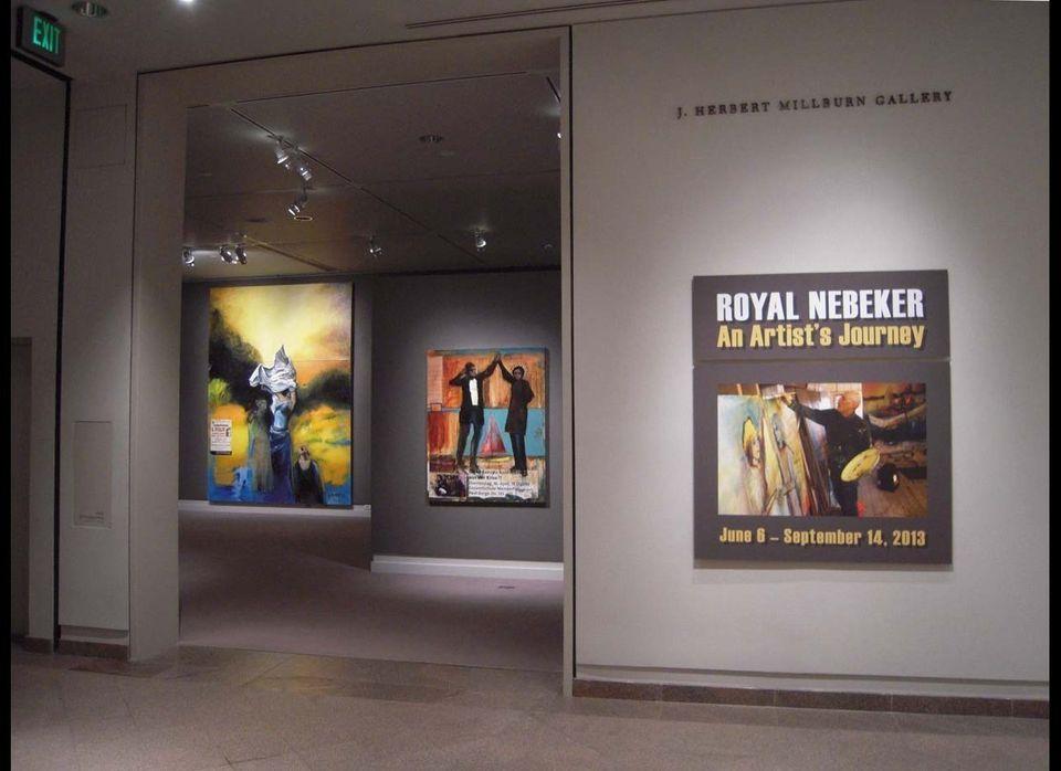 Royal Nebeker: An Artist's Journey, installation view