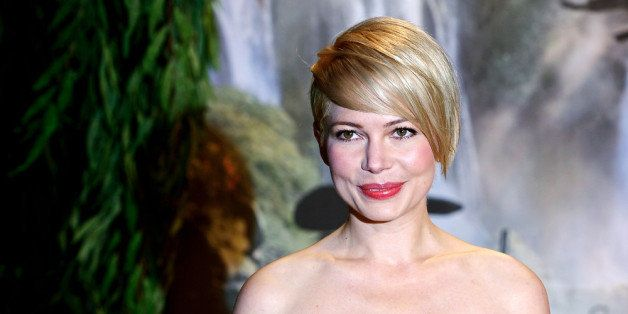 LONDON, ENGLAND - FEBRUARY 28:  Actress Michelle Williams attends the UK film premiere of  Oz: The Great and Powerful at the