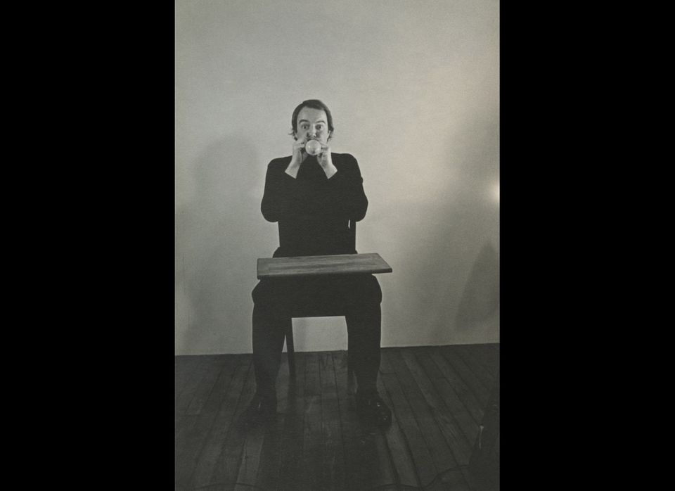 Papier Mâché Crocodile, image from <em>Art Therapy for Conceptual Artists</em>, Neke Carson (Rollo Press).