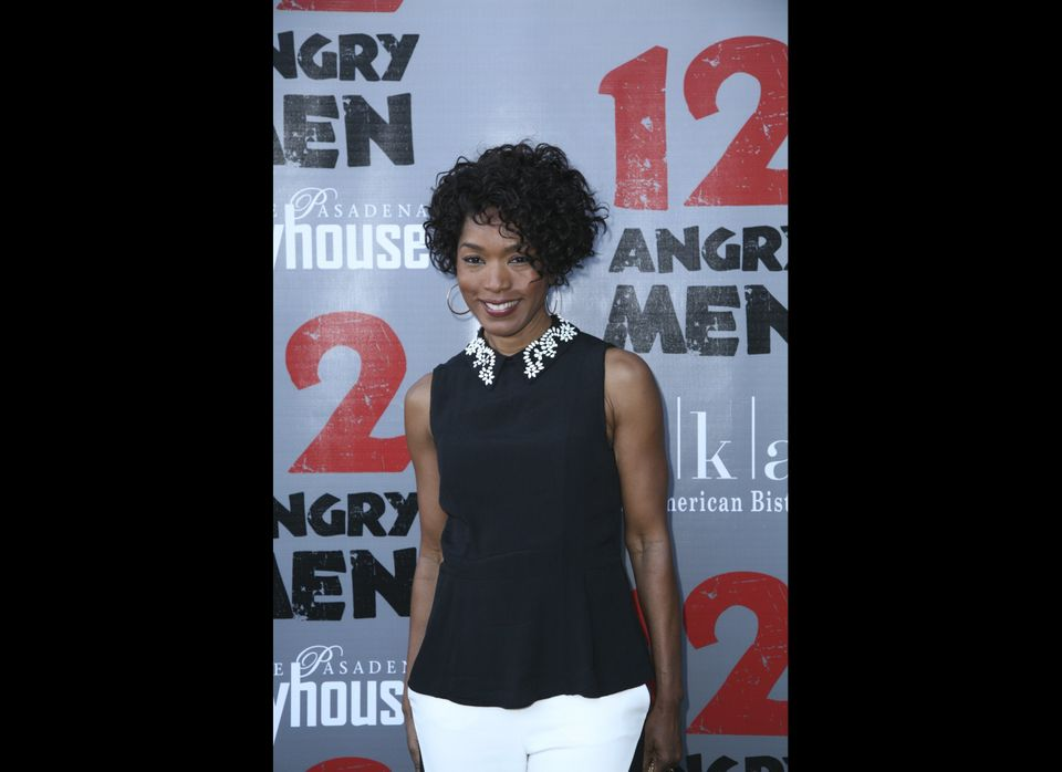 Academy-award winning actress, Angela Bassett at the TWELVE ANGRY MEN opening night performance, Nov. 10.  Photo by Maury Phi