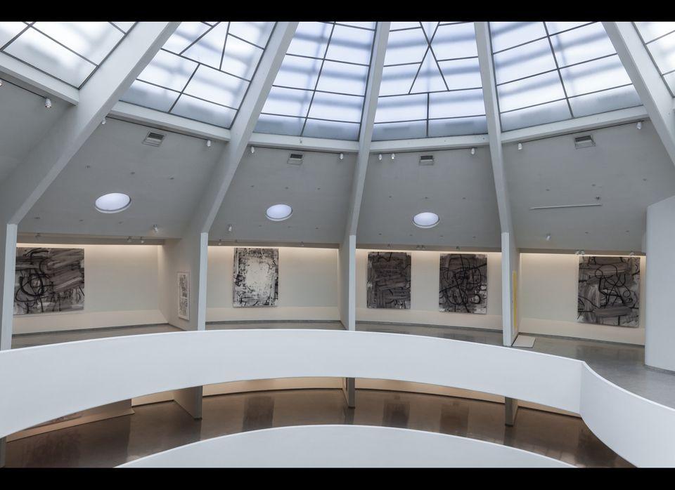 Installation view: <em>Christopher Wool</em>, Solomon R. Guggenheim Museum, New York, October 25, 2013–January 22, 2014 Phot