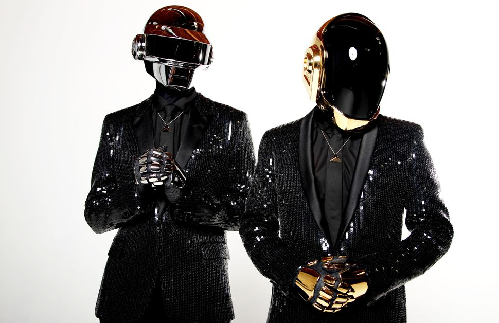 French electronic music duo Daft Punk returned in 2013, releasing their first new album in eight years, <em>Random Access Mem