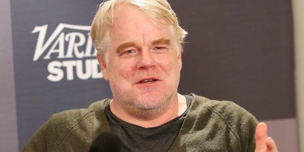PARK CITY, UT - JANUARY 18:  Actor Philip Seymour Hoffman speaks at the The Variety Studio: Sundance Edition Presented By Daw