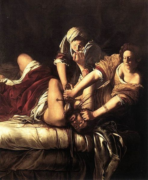 "Artemisia Gentileschi, <a href=""http://www.independent.co.uk/arts-entertainment/art/great-works/great-works-judith-beheading-"