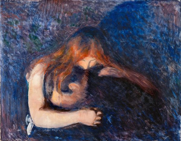 "Edvard Munch, ""Vampire"" (1893). Oil on canvas  80.5 x 100.5  Goteborgs konstmuseum, Gothenborg  © Munch Museum/Munch-Ellingse"