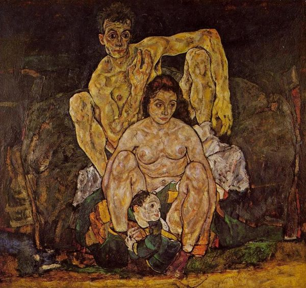 "Egon Schiele, ""The Family"" (1918)."