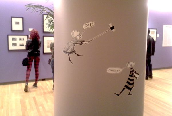 The Edward Gorey exhibition at the Loyola University Museum of Art opened on Feb. 15.