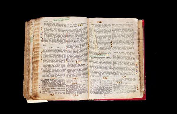 Bernardo Provenzano's Bible