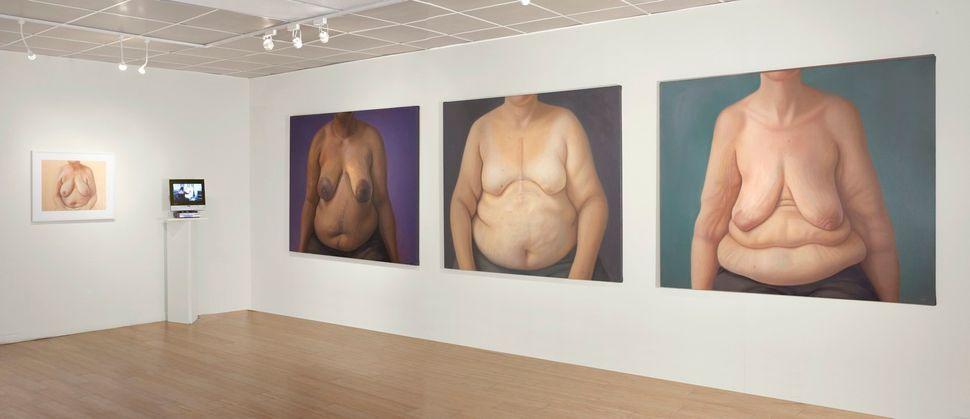 전시장 전경, 타블라 라사 갤러리(Tabla Rasa Gallery), 뉴욕 브루클린, 2011