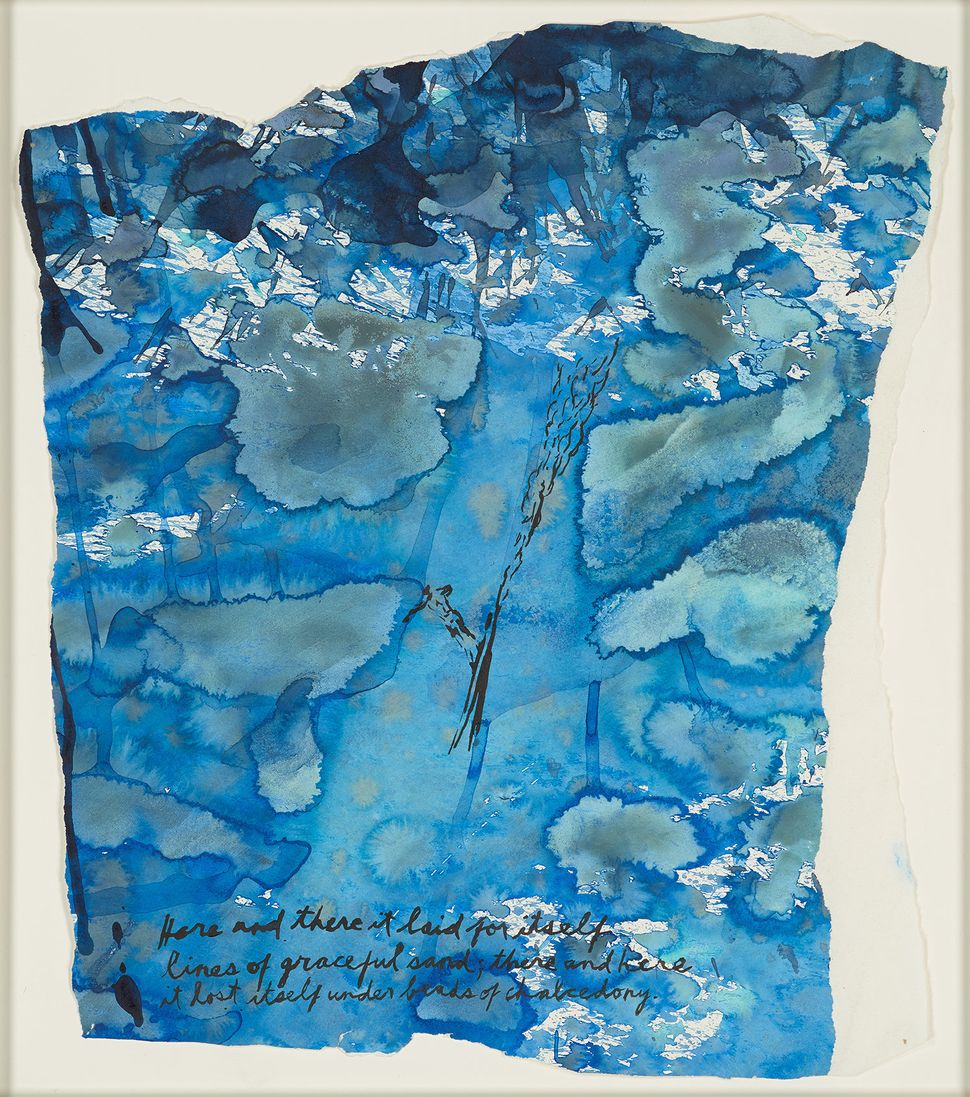 No Title (Here and there), 1995 Pen and ink on paper