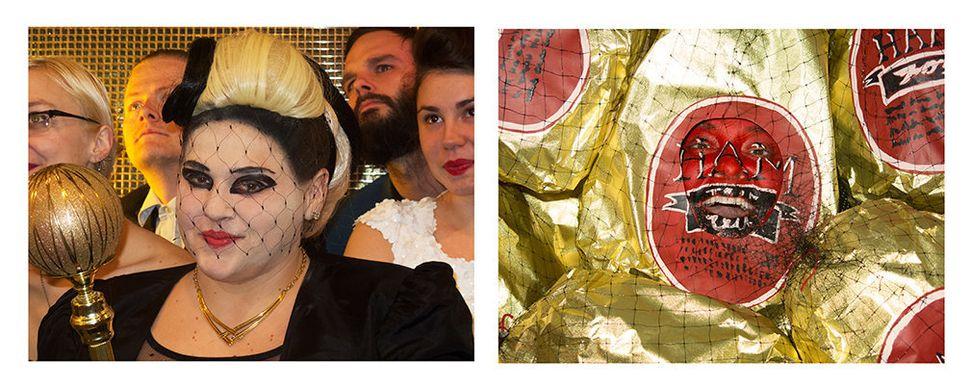Self-portrait as Lady Gaga/Self-portrait as a ham in Lady Gaga at the 2012 Grammys Totally Looks Like a Ham by ichc.brian (To