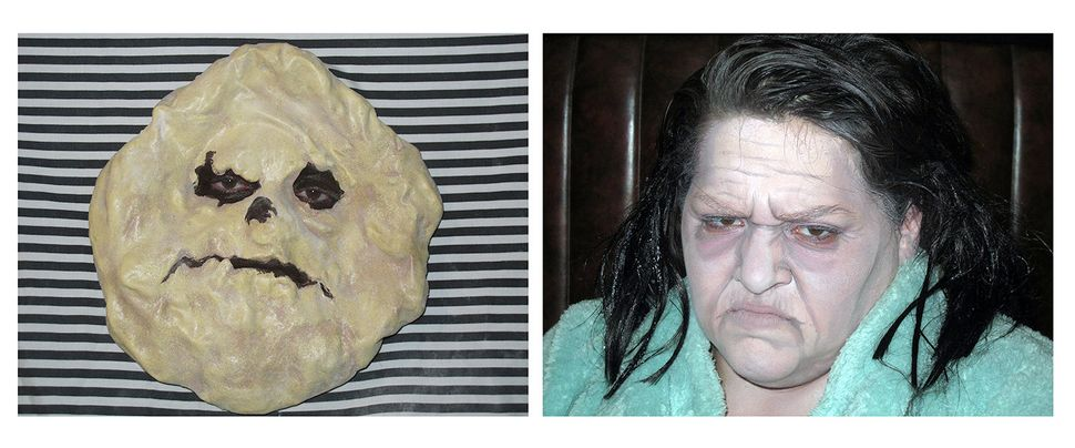 Self-portrait as This ugly cookie/Self-portrait as Anne Ramsey in This Ugly Cookie Totally Looks Like Anne Ramsey by pirate.n