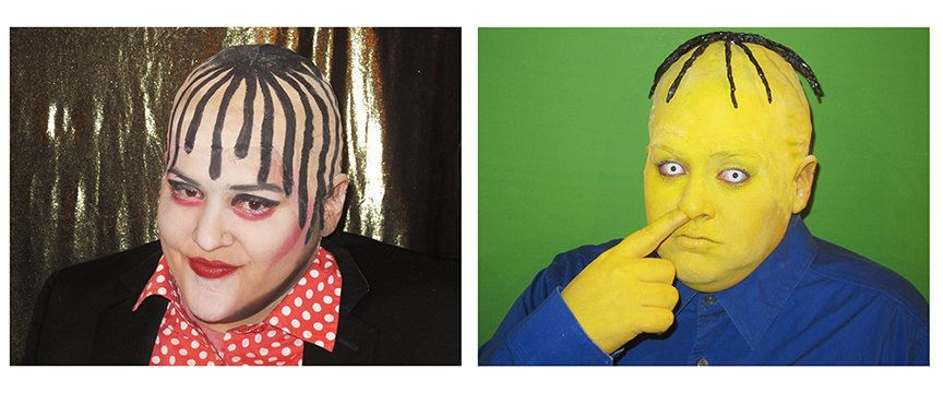 Self-portrait as Boy George/Self-Portrait as Ralph Wiggum in Boy George Totally Looks Like Ralph Wiggum by eagles97 (Totally