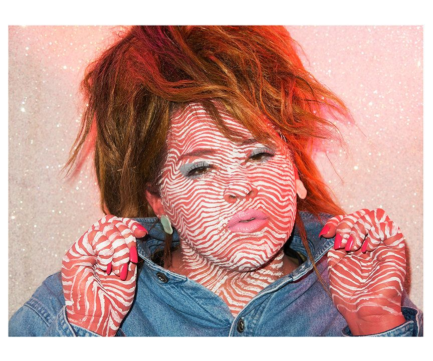 Self-portrait as Tuna Turner by food'lebrities (Celebrities as Food Series) color photograph, 2014