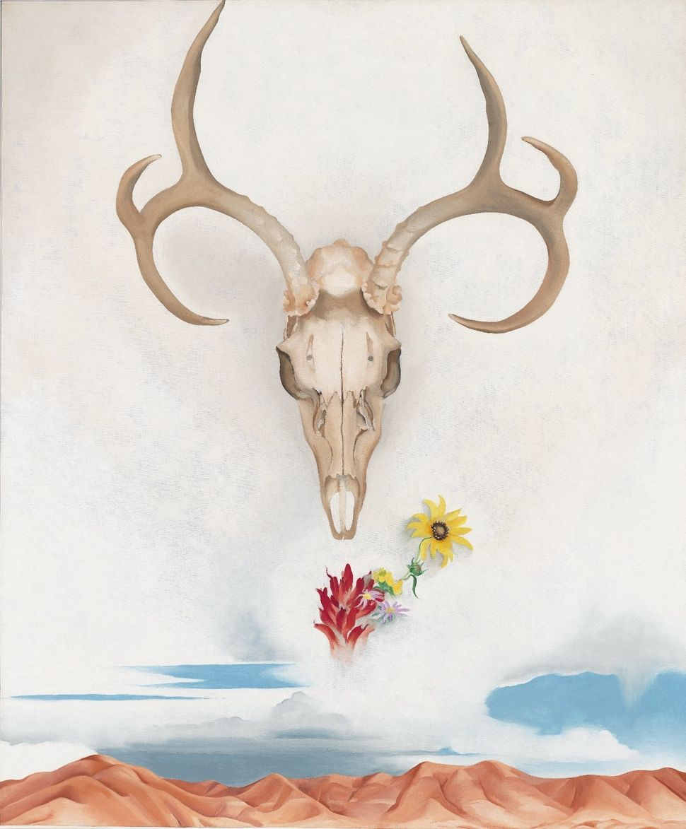 Georgia O'Keeffe, Summer Days, 1936. Oil on canvas. 36 1/8 x 30 1/8 in. Whitney Museum of American Art, New York, © 2014 Geor