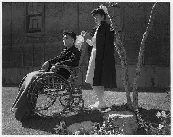 Nurse Aiko Hamaguchi, Patient Tom Kano