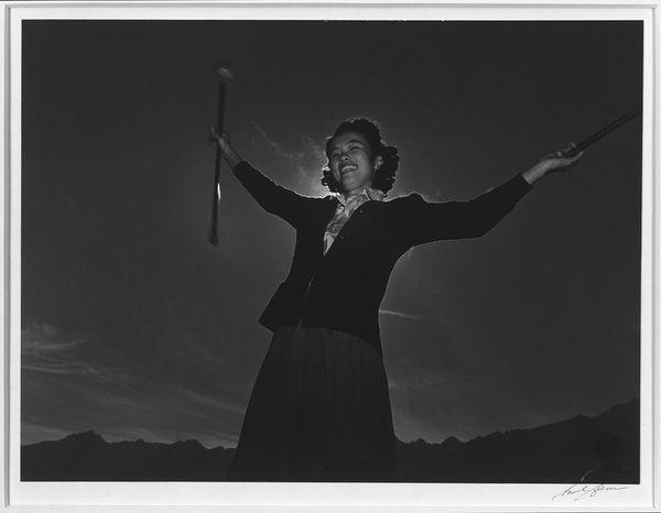 Baton Practice, Florence Kuwata
