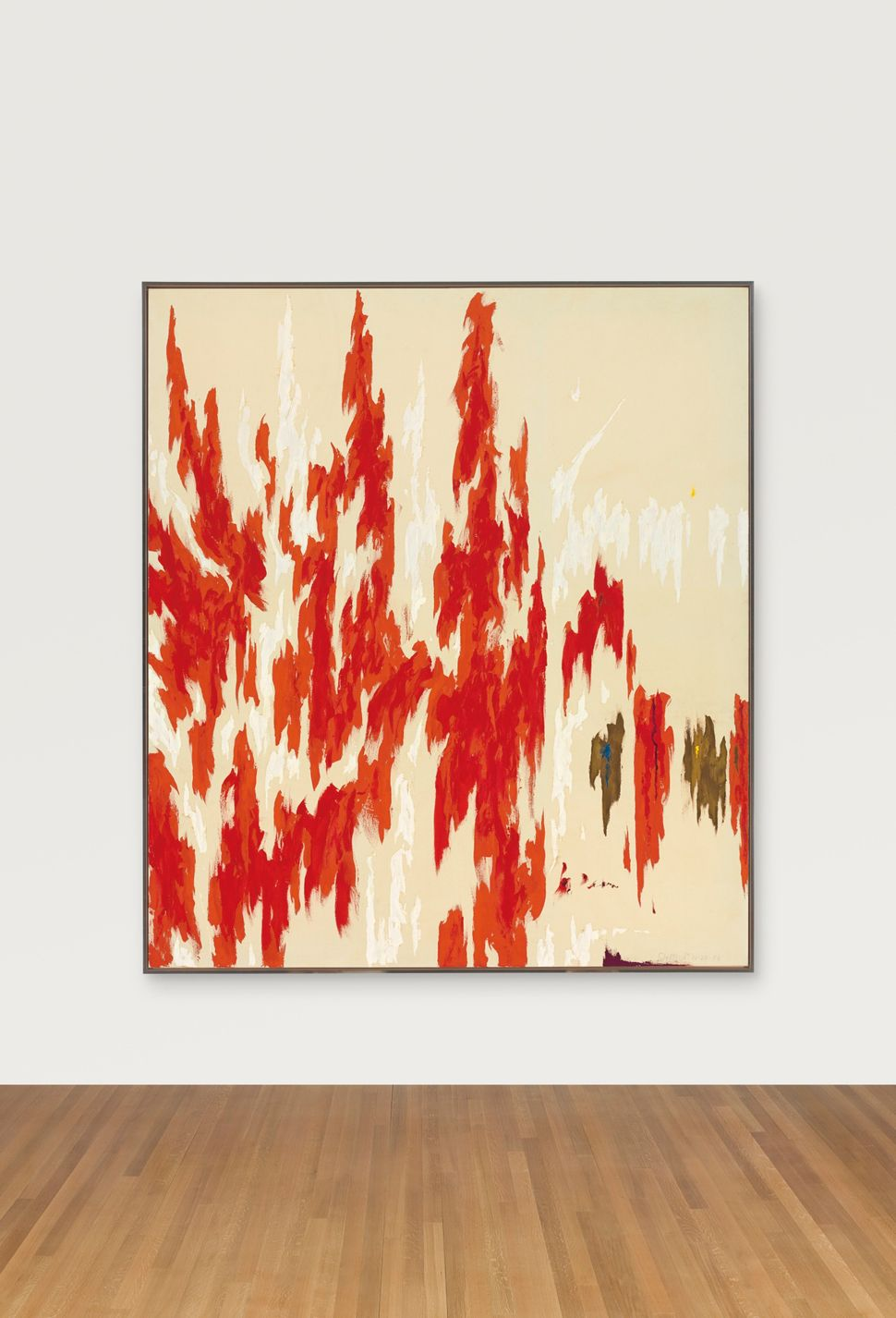 Clyfford Still (1904-1980), PH-1033, signed and dated 'Clyfford 11-29-76' (lower right); signed again and titled 'Clyfford PH
