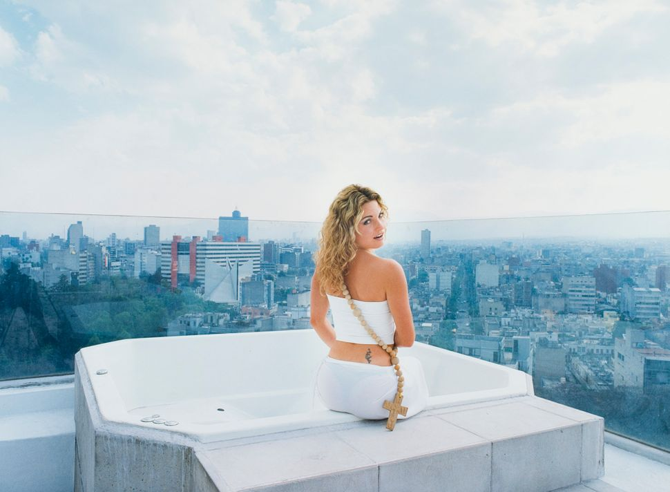 Daniela Rossell, Untitled (Ricas y famosas) (rooftop), 1999. Collection Museum of Contemporary Art Chicago, gift of The Disar