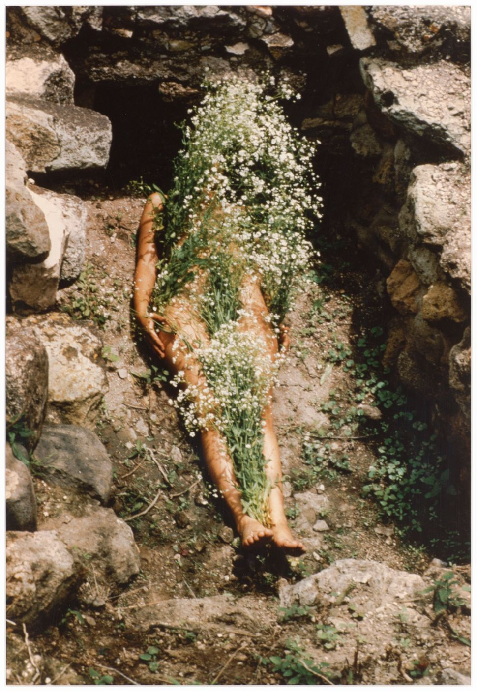 Ana Mendieta, Untitled (from the Silueta series), 1973-77. Collection Museum of Contemporary Art Chicago, gift from The Howar