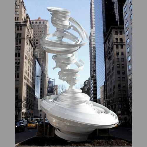 <em>This piece, along with six others, are currently displayed along Park Avenue in New York City between 52nd and 66th stree