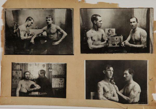 Images provenant du Recueil Lacassagne. Circa 1920-1940. Lyon. © Gdalessandro/ENSP.