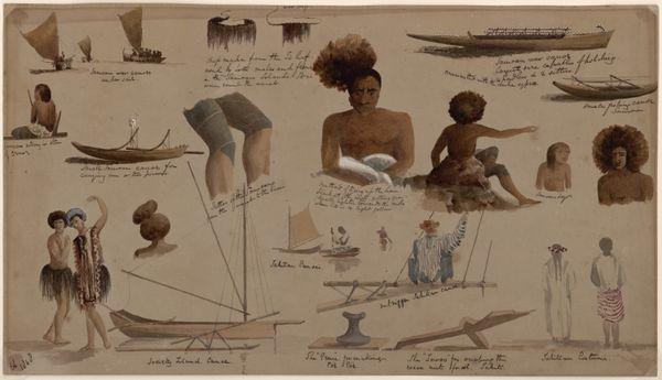 Samoa and Tahiti. Conway Shipley, 1824 - 1888. © musée du quai Branly.
