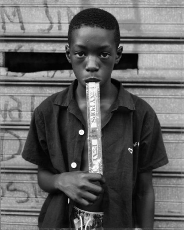 """""""Bey is known for his personal portraits of marginalized subjects documenting the rich street life of his neighborhood prior"""