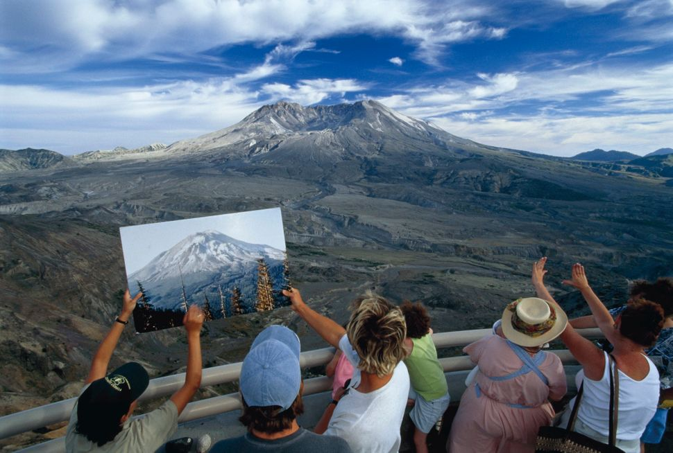Jim Richardson, Mount St. Helens Before and After, 1997