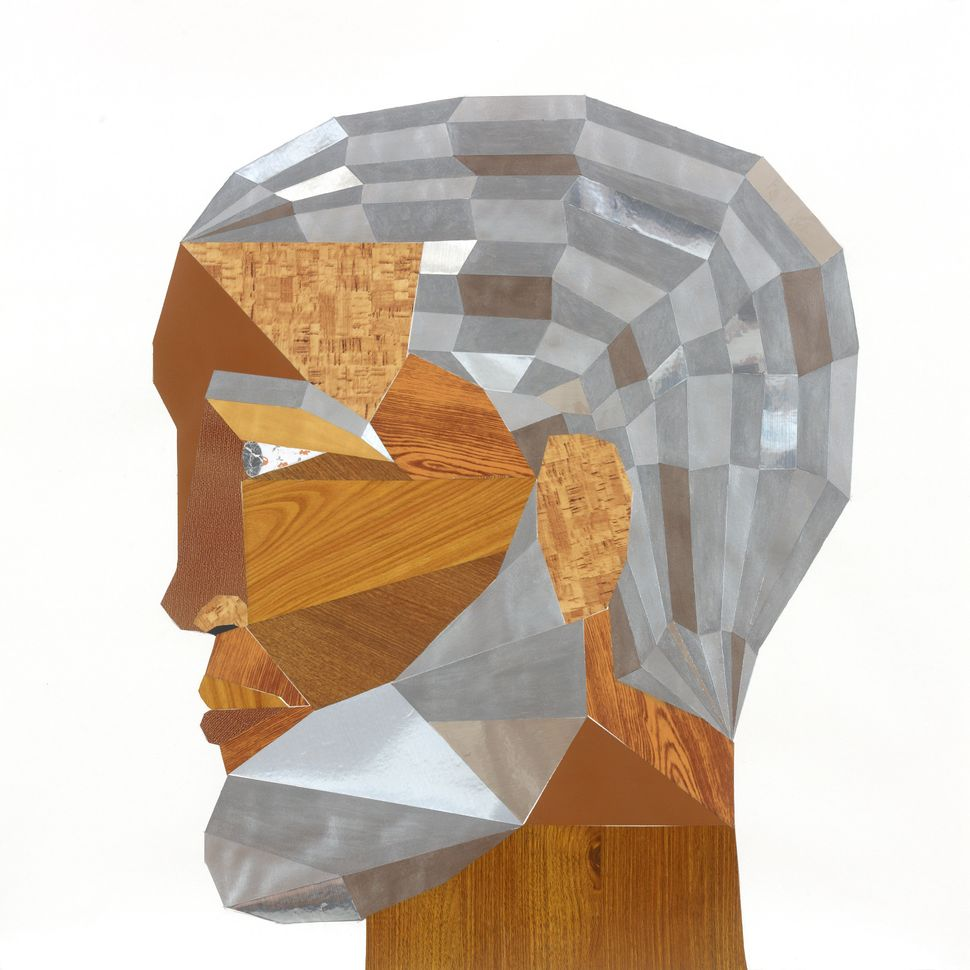 Derrick Adams, Head#13 (FloorPlan) 2012